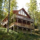 NC log cabin vacation rental